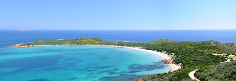 Capo Coda Cavallo. Is a beautiful place in the north of Sardinia Stock Images