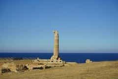Capo Colonna - tempio di Era Lacinia fotografia stock libera da diritti