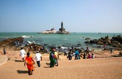 Capo Comorin, Kanyakumari, India Immagine Stock Libera da Diritti