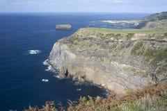 Capo composto di rocce vulcaniche fotografie stock