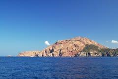 Capo de rouge in Corsica Fotografia Stock