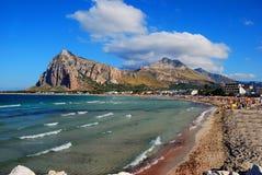 Capo de San Vito Lo (Sicília) Fotos de Stock Royalty Free