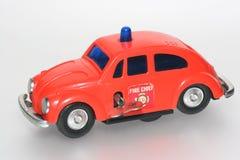 Capo dei vigili del fuoco del giocattolo dell'automobile dello scarabeo #2 di VW Fotografia Stock Libera da Diritti
