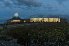 Capo del nord Corridoio all'isola di Mageroya, Norvegia Immagine Stock Libera da Diritti
