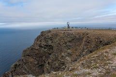 Capo del nord in Norvegia Fotografie Stock Libere da Diritti