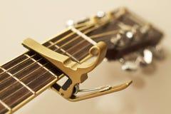 Capo della chitarra. Fotografia Stock