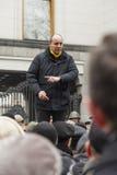 Capo di Andrey Paruby del movimento di liberazione nazionale Fotografia Stock