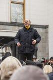 Capo di Andrey Paruby del movimento di liberazione nazionale Fotografie Stock Libere da Diritti