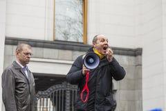 Capo di Andrey Paruby del movimento di liberazione nazionale Immagini Stock