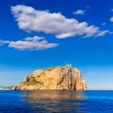 Capo di Cabo de San Antonio in Javea Denia alla Spagna Fotografia Stock