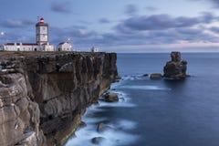 Capo di Carvoeiro Peniche - nel Portogallo fotografie stock