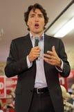 Capo di partito liberale Justin Trudeau fotografia stock