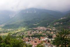 Capo Di Ponte, Włochy Alps Zdjęcie Royalty Free