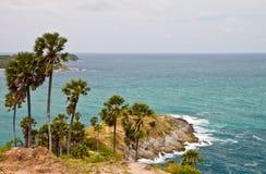 Capo di Promthep, Phuket, Tailandia fotografia stock libera da diritti