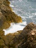Capo di Sorrento. A viewpoint on the coast of Italy at Sorrento Royalty Free Stock Photo