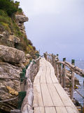 Capo di Sorrento. A viewpoint on the coast of Italy at Sorrento Stock Images