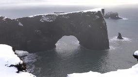 Capo Dyrholaey, Islanda archivi video