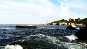 A capo Elizabeth, Maine fotografia stock libera da diritti