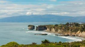 Capo Foulwind, isola del sud, Nuova Zelanda Fotografia Stock Libera da Diritti