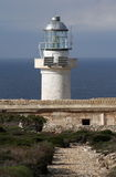 Capo Grosso - Egadi islands. Capo Grosso The lighthouse on the island of Levanzo in Egadi islands - Sicily Stock Photo