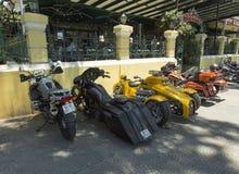 Capo Hoss 501 ci del motocycle Immagini Stock Libere da Diritti
