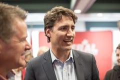 Capo liberale canadese Justin Trudeau immagini stock
