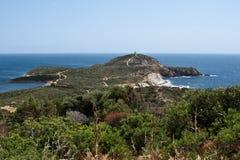 Capo Malfatano, Sardinia, Italien royaltyfria bilder