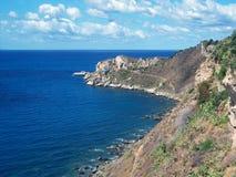 Capo Milazzo royalty free stock photography