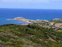 Capo Pecora. Little peninsula in Sardinia Royalty Free Stock Photography