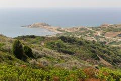 Capo Pecora Sardaigne image libre de droits
