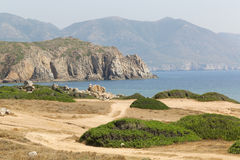Capo Pecora Sardinia Royalty Free Stock Photos
