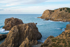 Capo Pecora in Sardinia Stock Photography