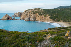Capo Pecora in Sardinia Royalty Free Stock Image