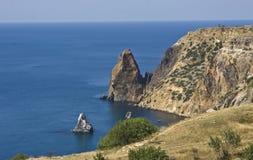 Capo (promontory) Fiolent, Crimea fotografia stock