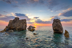 Capo Rasocolmo, Italie Images libres de droits