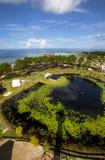 Capo San Blas Lightouse View della st Joe del porto Fotografie Stock Libere da Diritti