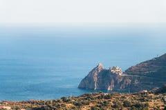 Capo Sant'Alessio Sicily Fotografia Stock