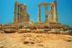 Capo Sounion Fotografia Stock