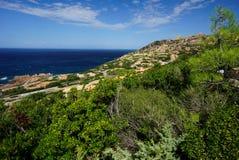 Capo Tesla en Sardaigne Italie photos libres de droits