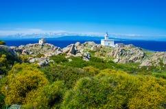 Capo Testa - Beautiful coast of sardinia Stock Image