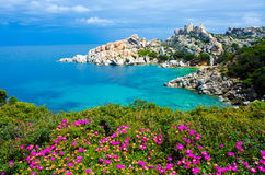 Capo Testa - Beautiful coast of sardinia Royalty Free Stock Photo
