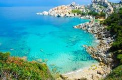 Capo Testa - Beautiful coast of sardinia Royalty Free Stock Images