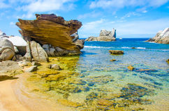 Capo Testa - Beautiful coast of sardinia Stock Image