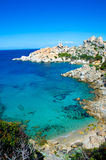 Capo Testa - Beautiful coast of sardinia Stock Images