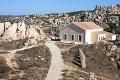Capo Testa, Sardinia Royalty Free Stock Photography