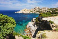 Capo Testa, Sardinia Royalty Free Stock Photography