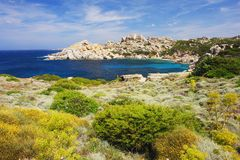 Capo Testa, Sardinia Royalty Free Stock Images