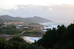 Capo Testa Sea Stock Photos