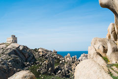Capo Testa Royalty Free Stock Images