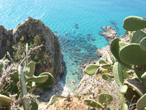 Capo Vaticano Stock Photography